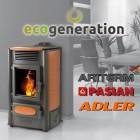 Ecogeneration pelletkachels en pelletketels – Mechelen (NL)